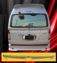 TOYOTA HIACE REAR CENTER SPOILER