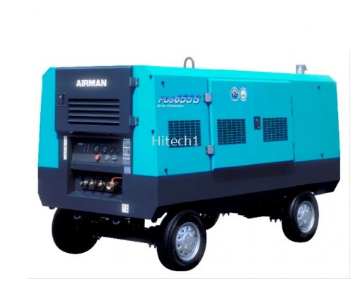 Air Compressor Portable Series PDS655S-4B2