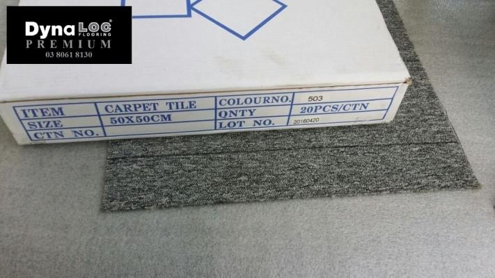 GREY LINE Carpet Tiles (CPT 503)