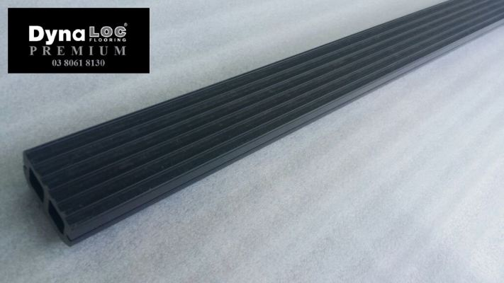 WPC Batten Decking Board - Dark Grey