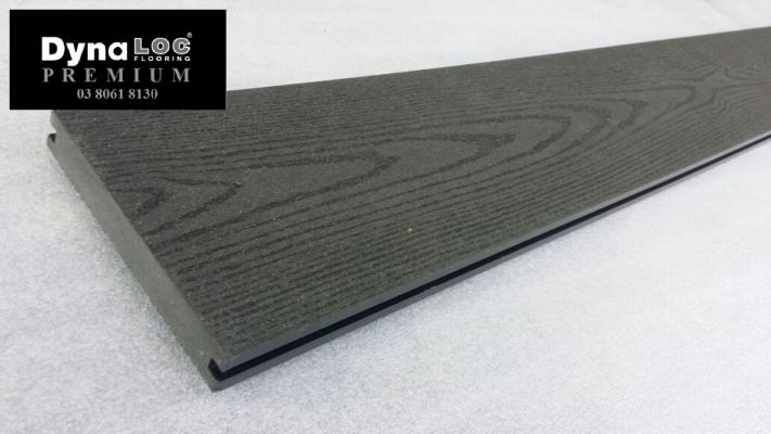 WPC Decking Board - Dark Grey