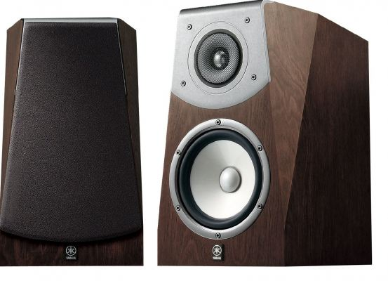 Yamaha NS-B951 2 Way Bass Reflex Bookshelf Speakers (Brown)