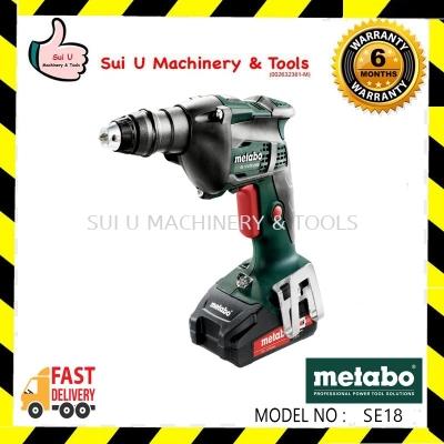 METABO  SE18 LTX 2500 18V Cordless Screwdriver 2500rpm 620047500