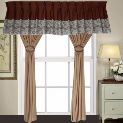 1 SET CURTAIN + SCALOP (1PCS SCALOP + 2 PCS FULL CURTAIN) (SET 25)