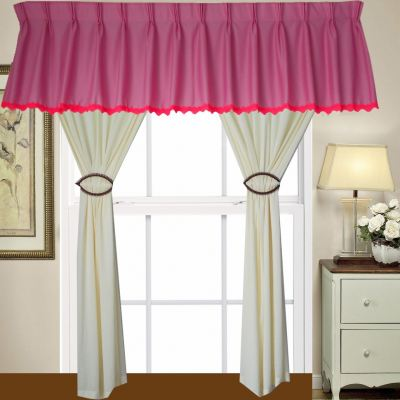 1 SET CURTAIN + SCALOP (1PCS SCALOP + 2 PCS FULL CURTAIN) (SET 22)