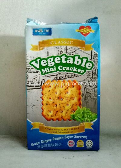 Hwa Tai Vegetable Cracker 350g