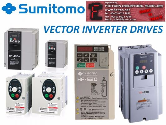 HF4314-7A5 HF43147A5 SUMITOMO SENSORLESS VECTOR INVERTER DRIVE SUPPLY & REPAIR BY FICTRON