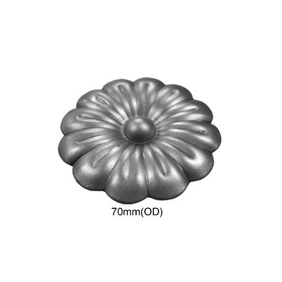 Large Metal Plum Flower