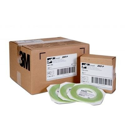 Scotch® Performance Masking Tape 233+, 26343, 3 mm x 55 m