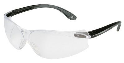 3M™ Virtua™ V4 Protective Eyewear 11672-00000-20 Clear Anti-Fog Lens, Black/Gray Temple