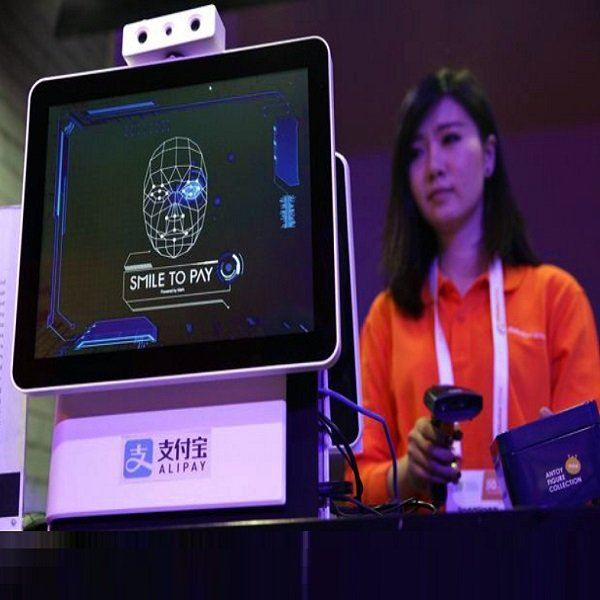 "Alipay upgrades facial-recognition system ""Dragonfly"" China News"