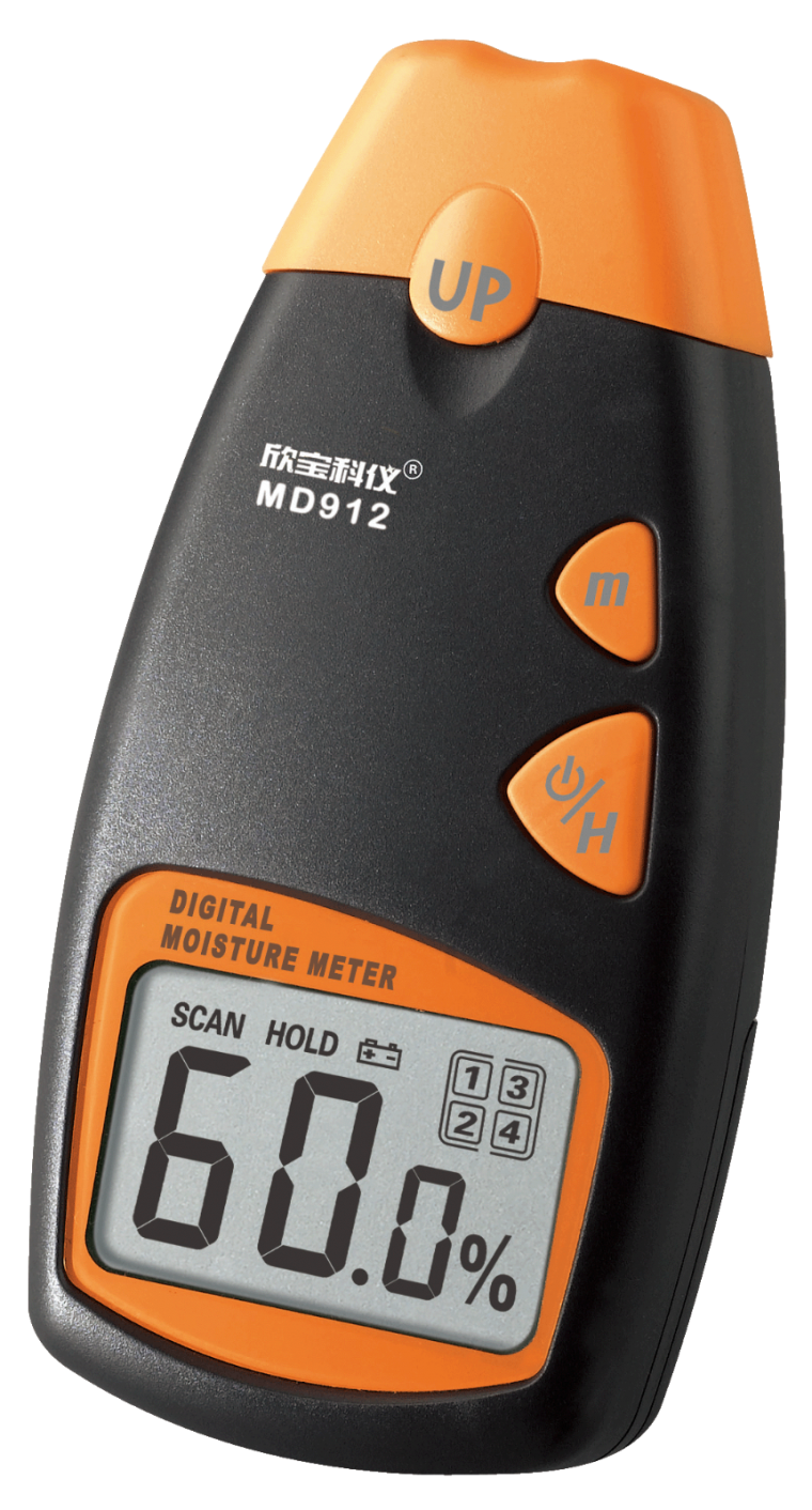 WOOD Moisture meter Model : MD912 Moisture Meter Climatic / Environment Inspection