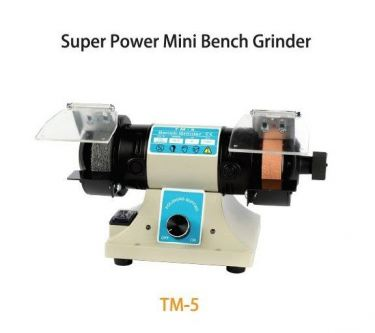 TMT 75MM MINI BENCH GRINDER 400W 230V 50HZ (NW:16KG) (WHEEL SIZE: 75 X 20 X 10MM), TM5