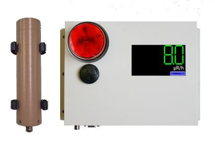 Radiation Area Monitors - AM-1X1 Radiation Area Monitor Radiation Detector Climatic / Environment Inspection