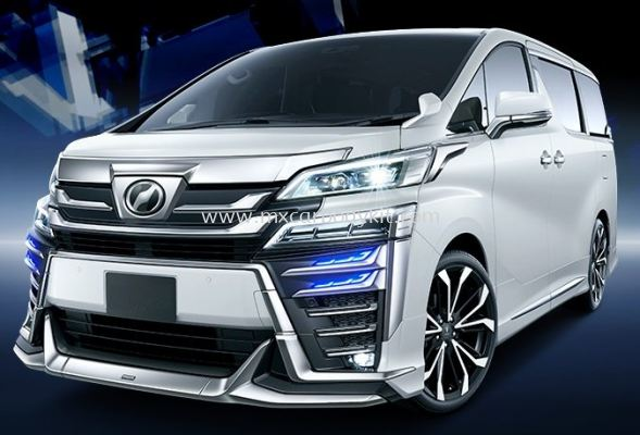 TOYOTA VELLFIRE 2018 MODELLISTA BODYKIT FOR AERO BODY