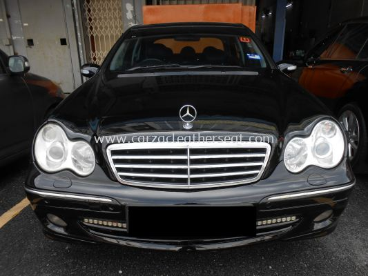 Mercedes-Benz C230 Replace Steering Leather