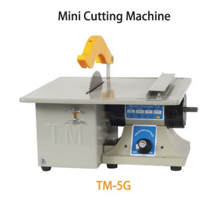 TMT 150MM MINI CUTTING MACHINE 400W 230V 50HZ (TABLE SIZE: 29X 26CM) 10,000RPM, TM-5G