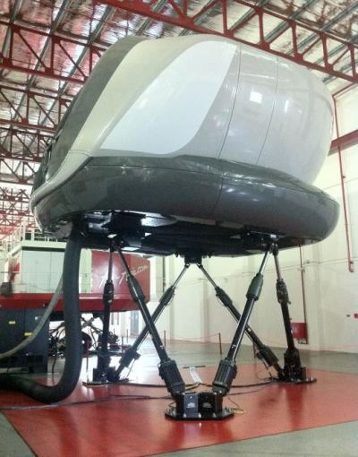 Install chemical anchor to foudation Air Asia Flight Simulator.