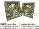 BG310 Plaque & Velvet Box Souvenir Plaque / Velvet Box & Souvenir item