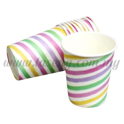 Paper Cup Unicorm - Rainbow 10pcs (P-PC-UN2)