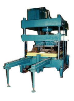 300 Ton Hydraulic Hot Press With Sliding Table