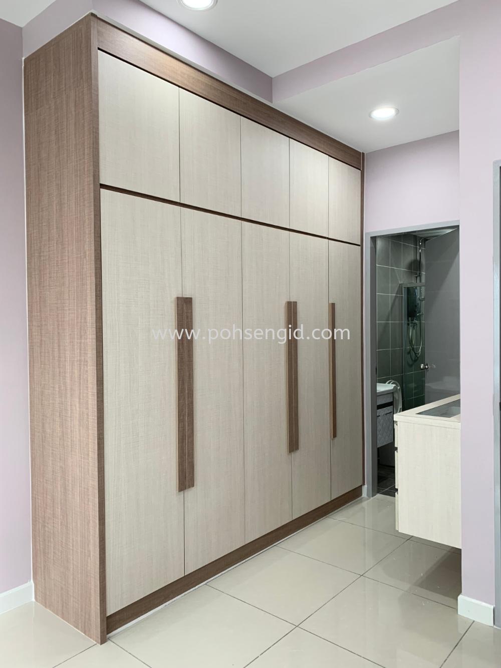 Bedroom Seremban, Senawang, Negeri Sembilan (NS), Malaysia. Renovation, Service, Interior Design, Supplier, Supply | Poh Seng Furniture & Interior Design