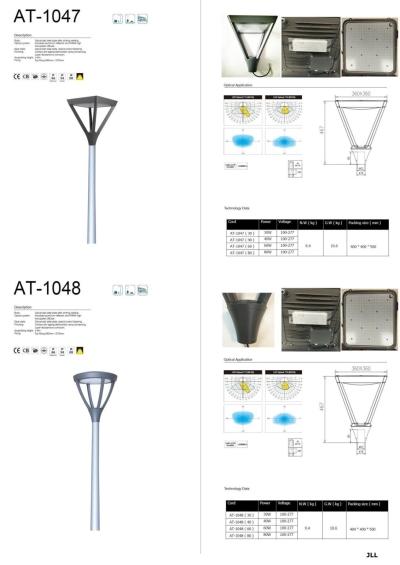 AT1047 AT1048 TOP POST LED LANTERN