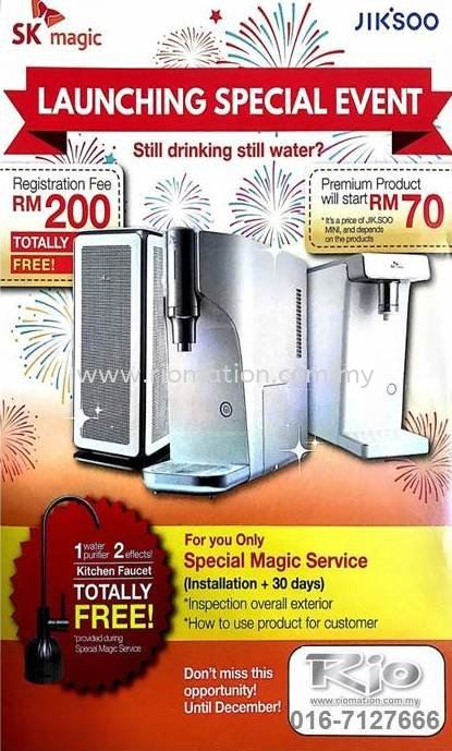 SK Magic Instant Water Purifier Promotion till 311218