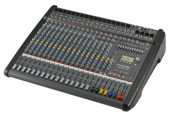 POWERMATE 1600-3 16 CHANNEL COMPACT POWER MIXER
