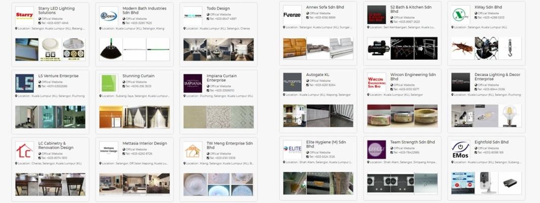 Kuala Lumpur Interior / Home Decoration List Vol.6