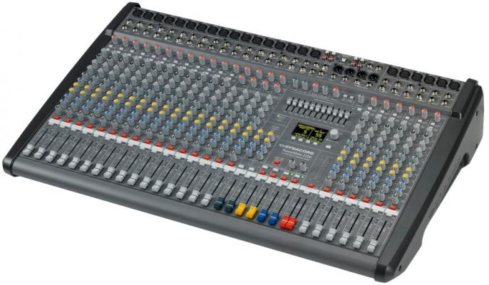 POWERMATE 2200-3 22 CHANNEL COMPACT POWER MIXER