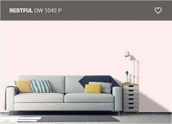 Nippon Paint Q-Glo - Restful ( OW1042P )