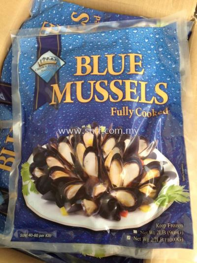 Blue Mussel (Fully Cooked)