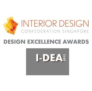 Dec 2012-Interior Design Confederation Singapore Design Excellence Awards I-DEA 2012 - Troika Sales