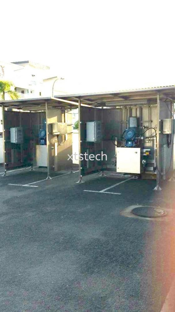 Petronas - Emerson Gas Metering with Filter Shelter System