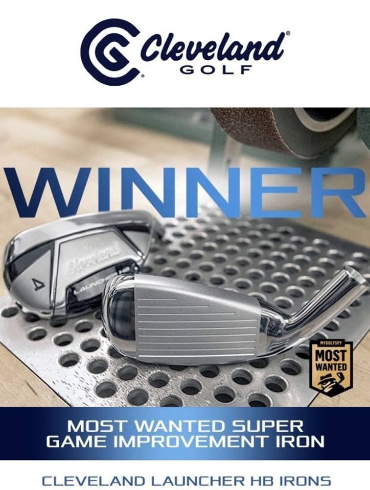 Cleveland LAUNCHER HB STEEL & GRAPHITE  IRONS - The Most Wanted Super Game Improvement Irons!