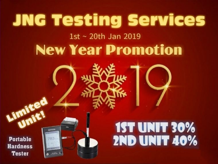 Hurry! Hurry! <2019 New Year Promotion> Last 4 days!