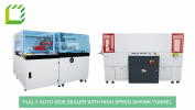 Fully Auto Side Sealer with High Speed Shrink Tunnel L-Type Sealer  Packaging Machines