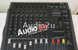 PAA-PM8-USB Ampaudio Power Mixer Pro Sound PA System