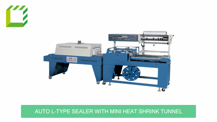 Auto L-Type Sealer with Mini Heat Shrink Tunnel