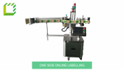 1 Side Online Labelling Machine (Taiwan) Fully Automatic Labelling Machines  Packaging Machines