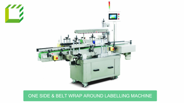 One Side & Belt Wrap Around Labelling Machine (Taiwan)