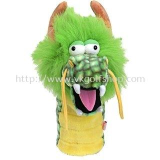 Daphne's Headcover - Dragon Green