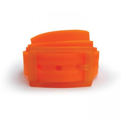 Unisex Silicone Belt - Orange/Orange