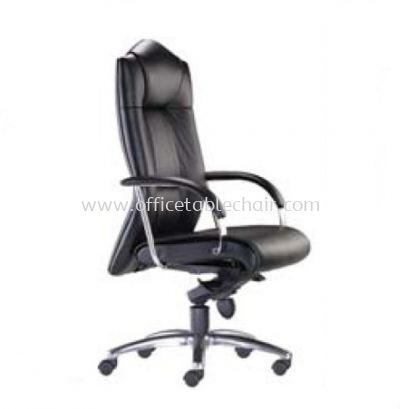 PRIMA DIRECTOR HIGH BACK CHAIR C/W ALUMINIUM DIE-CAST BASE PR 120L