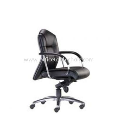PRIMA DIRECTOR LOW BACK CHAIR C/W ALUMINIUM DIE-CAST BASE PR 122L