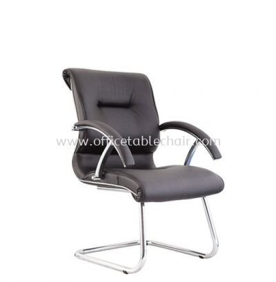 VITTORIO VISITOR CHAIR C/W CHROME CANTILEVER BASE ACL 406