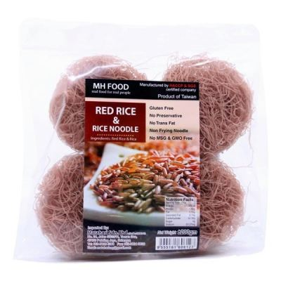 MH Food Red Rice & Rice Noodle