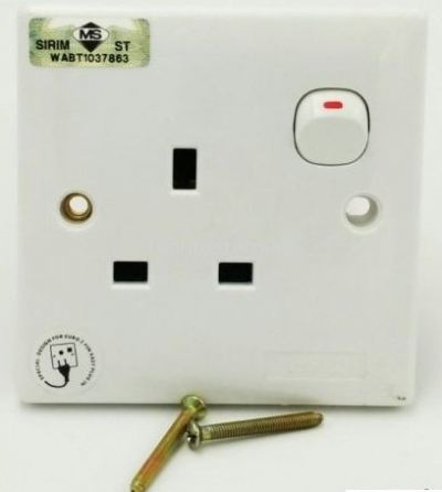 13A SINGLE SWITCH SOCKET