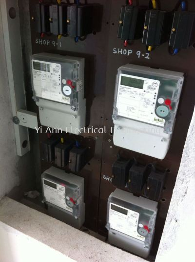 Install EMH Sub meter with sirim